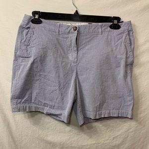 Biden seersucker stripped shorts